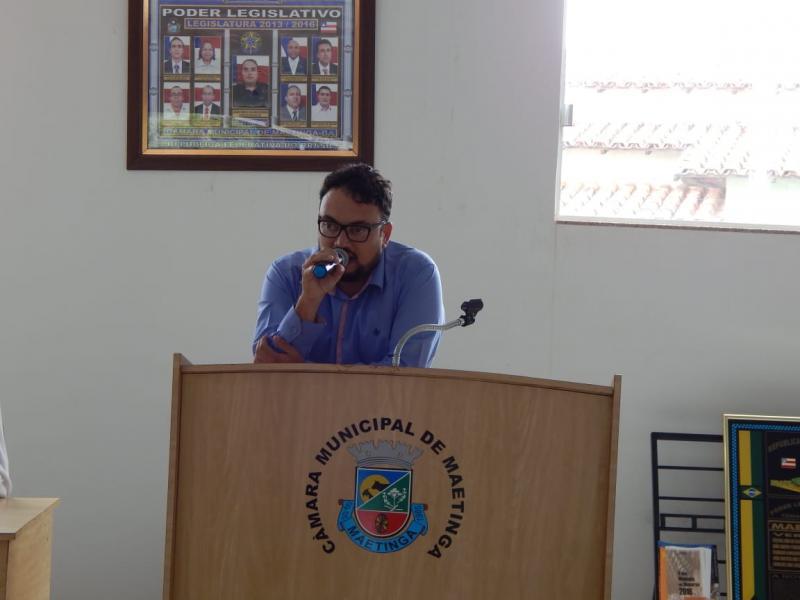 Chicãozinho é reeleito presidente da Câmara de Vereadores de Maetinga