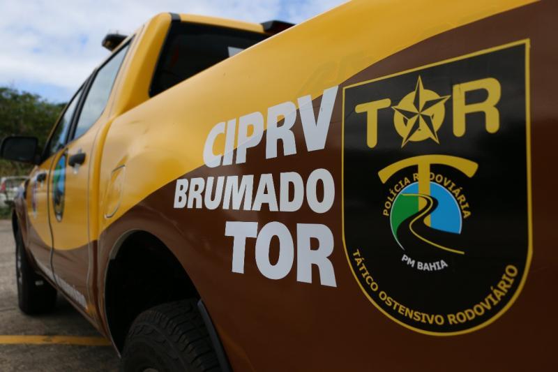 Brumado: Ônibus clandestino é apreendido em barreira na BA-262 com a BR-030