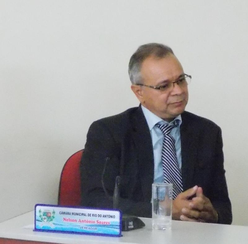 Nelson Soares é eleito novo Presidente da Câmara de Vereadores de Rio do Antônio