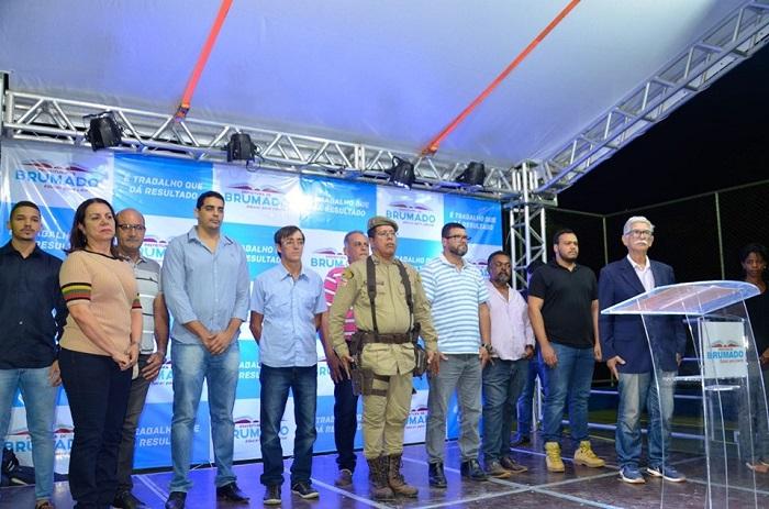 Brumado: Inauguração da quadra poliesportiva do Bairro Cidade das Esmeraldas marca evolução da área esportiva