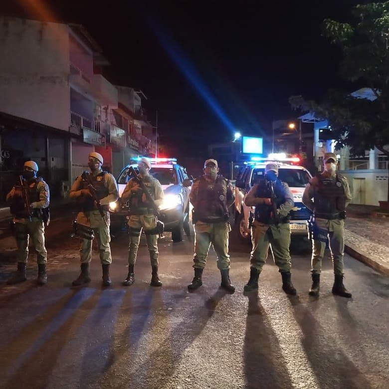 34ª CIPM fez cumprir decreto contra aglomerações em sua área de atuação