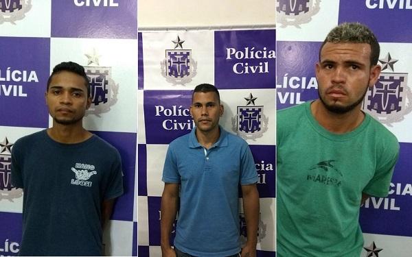 Três homens são presos suspeitos de participar de roubo a fórum de Itapetinga