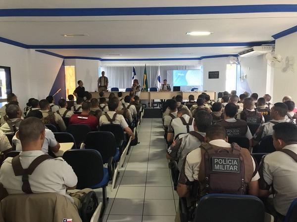 34ª CIPM promove parada militar e palestras ao efetivo da unidade