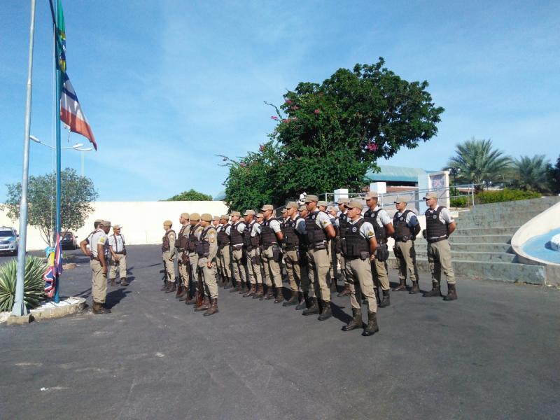 Polícia Militar não está em greve, garante Comandante Geral. Policiamento normal em todo o Estado