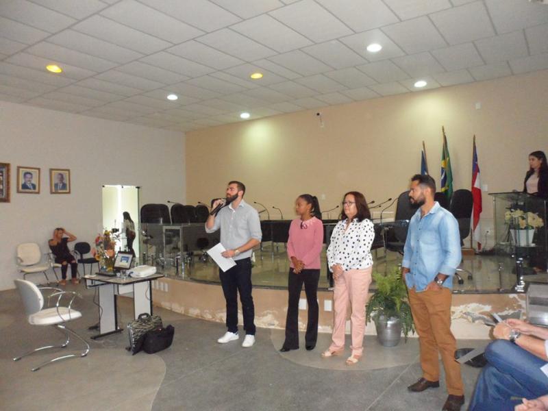 Conferência de abertura do Plano Municipal de Saneamento Básico é realizada em Aracatu