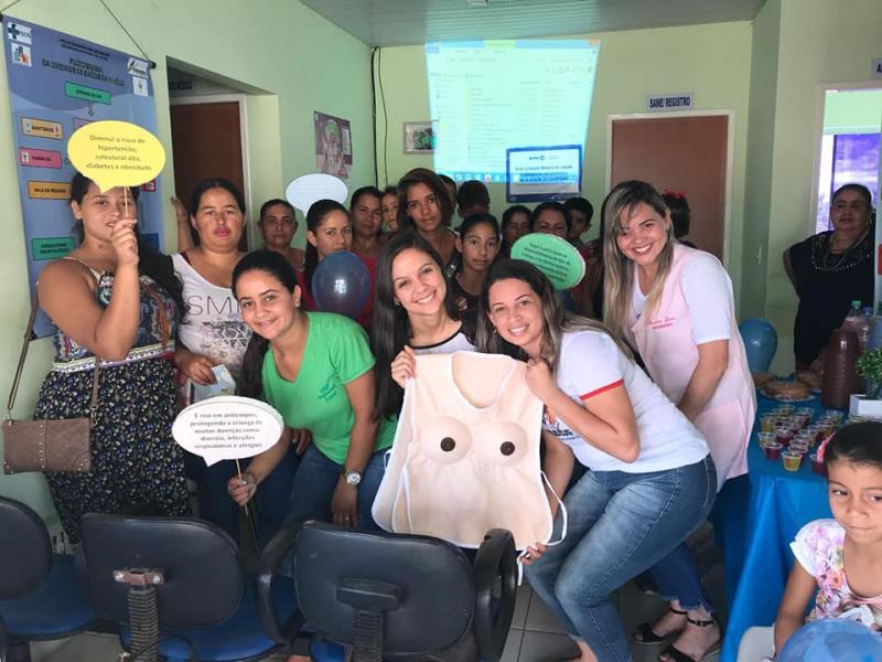 Agosto Dourado para conscientização da amamentação é realizado com sucesso em Aracatu