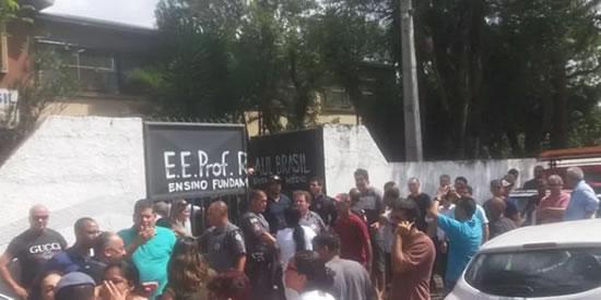 Chega a dez número de mortos em tiroteio em Suzano