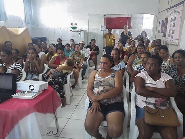 Brumado: Equipe CEJUSC-Brumado ministra palestra para os assistidos do CRAS Yolanda Pires