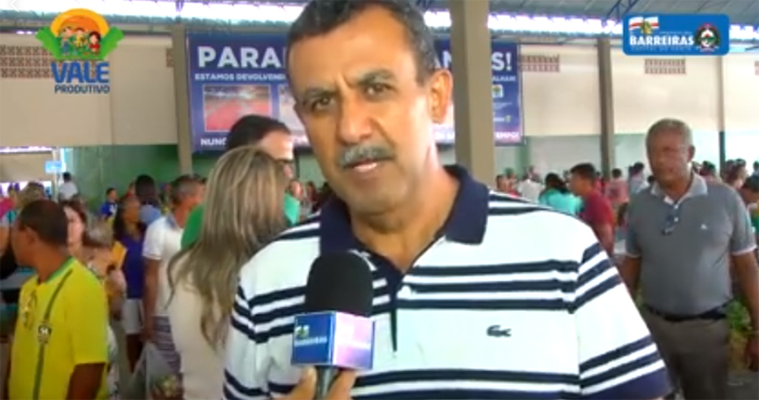 Prefeito de Barreiras é denunciado ao Ministério Público Estadual