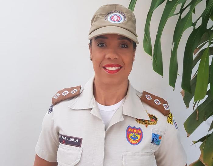 Major Leila Gonçalves assume comando da Polícia Rodoviária Estadual em Brumado