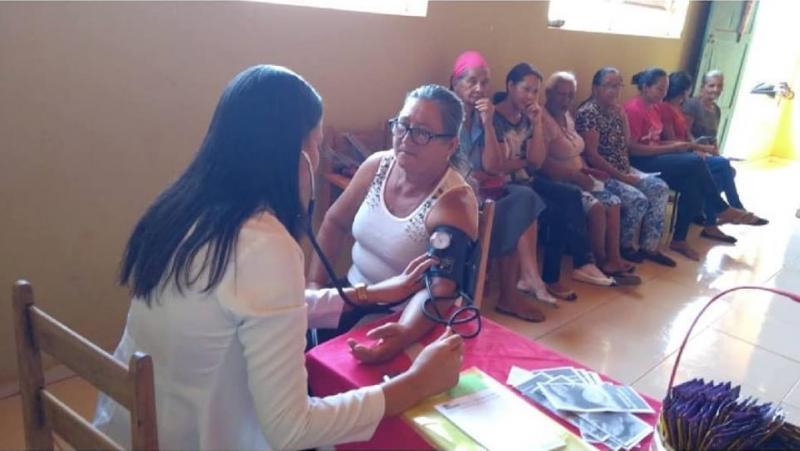 Secretaria de Saúde de Guajeru realiza Blitz da Saúde e oferece atendimento especializado a comunidades rurais