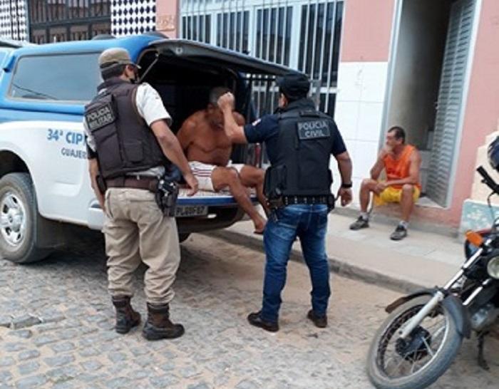 Homem é preso por suspeita de homicídio em Guajeru pela Polícia de Brumado