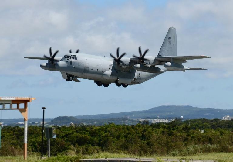 Cinco desaparecidos após colisão de aviões militares americanos sobre o Japão