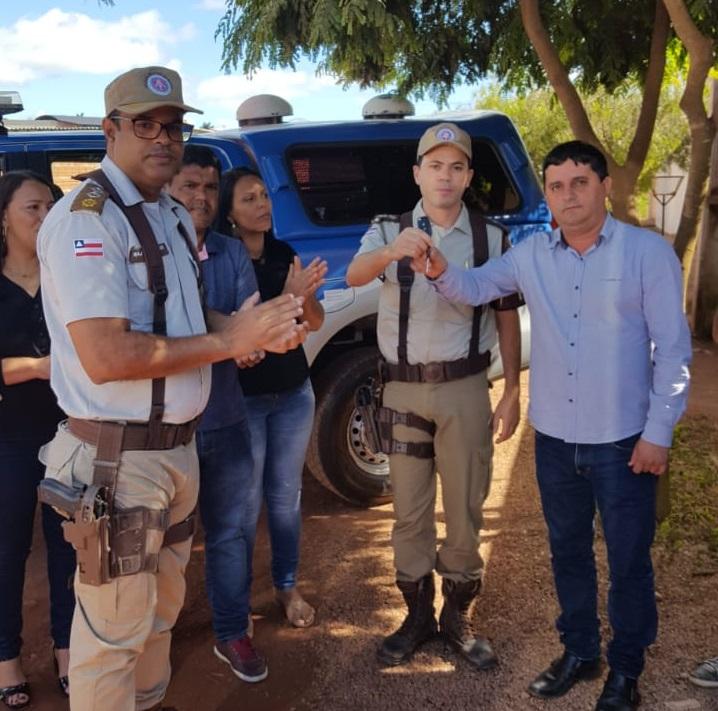 Segurança de Barra da Estiva ganha reforço com mais uma viatura para patrulhamento