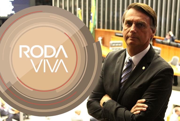 Jair Bolsonaro é o entrevistado do Roda Viva desta segunda-feira