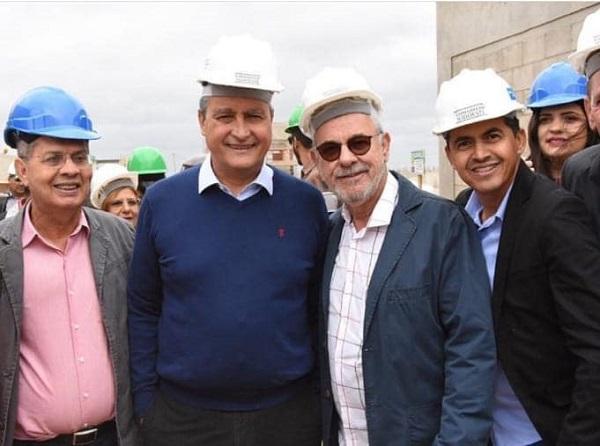 Prefeito de Guajeru participa de visita do governador da BA em Vitória da Conquista