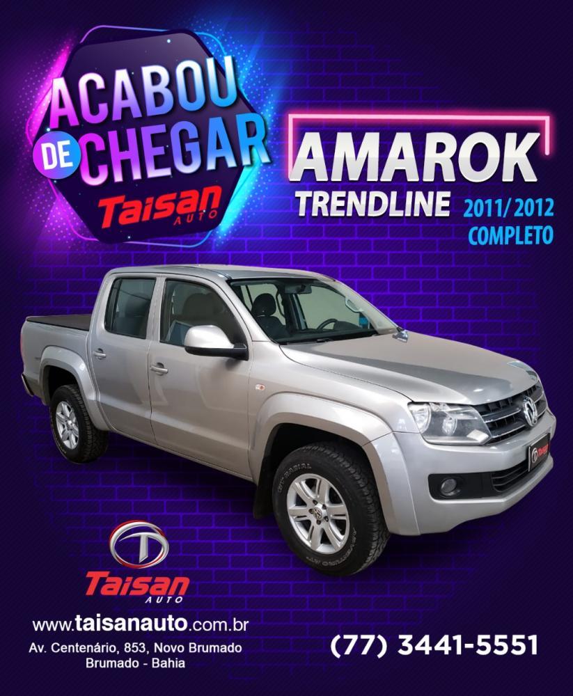 O veículo que você procura está na Taisan Auto; acabou de chegar Amarok Trendline