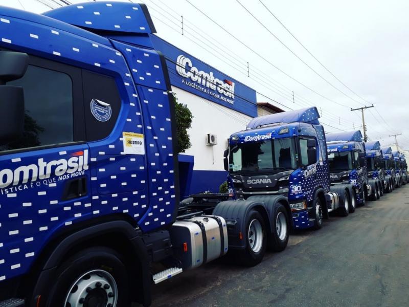 Brumado: É da Comtrasil o primeiro Scania movido a gás a operar na região Nordeste do Brasil