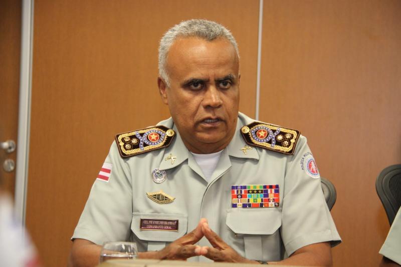 Comandante-geral da PM representa a Bahia em evento na Índia