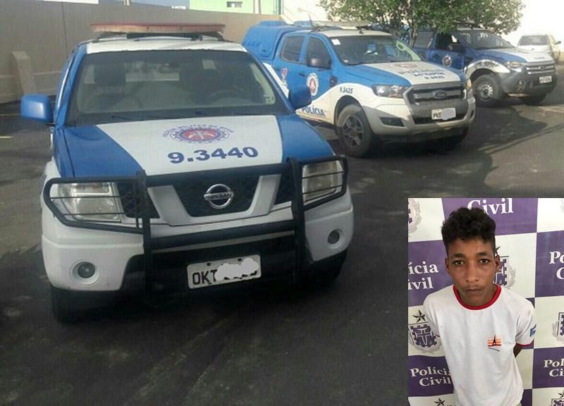 Polícia prende homem com mandado de prisão em aberto, condenado por furto em Brumado