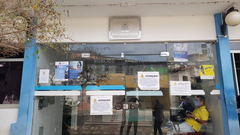Prefeitura de Brumado suspende atendimento presencial
