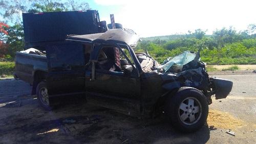 Trecho entre Conquista-Anagé: três pessoas morrem em acidente na BA-262
