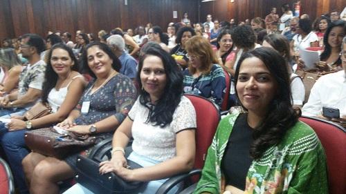 Secretária de Educação de Barra da Estiva participa de audiência pública em Salvador
