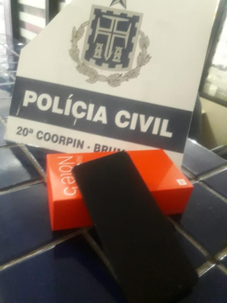 Após investigações, Polícia Civil de Brumado prende homem acusado de roubar aparelho celular