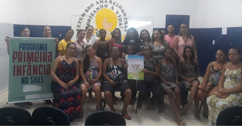 CRAS Ester Trindade promove encontro com gestantes e famílias em Brumado