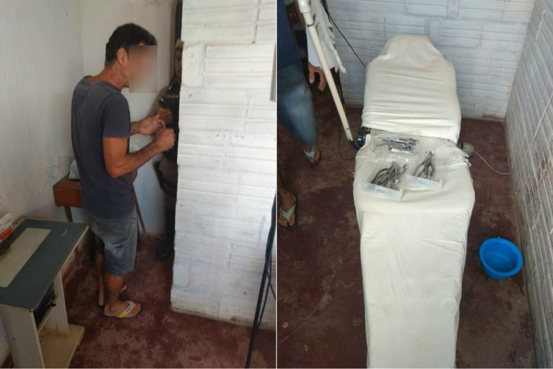 Falso cirurgião dentista é preso após exercer função ilegalmente por 15 anos em Bom Jesus da Serra