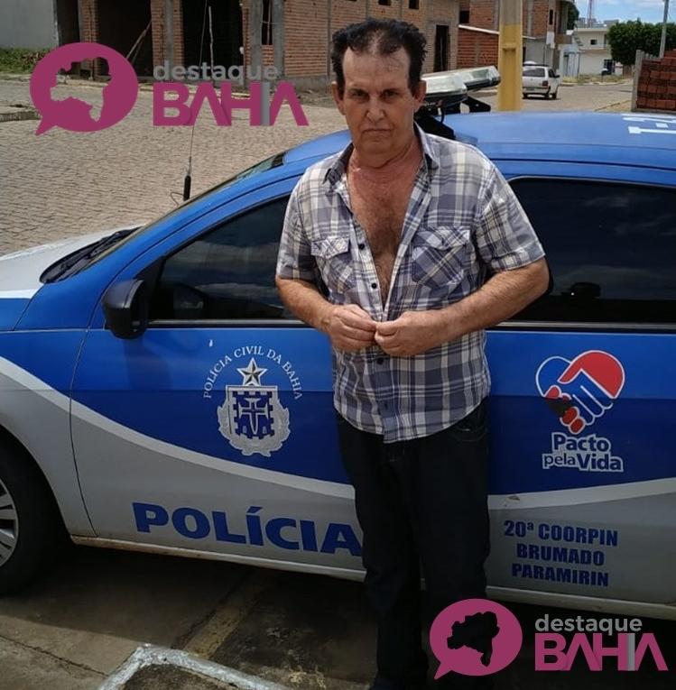Intermediário da venda de criança de 12 anos em Santa Maria da Vitória é preso pela 20ª Coorpin de Brumado