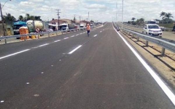 BR-116: último trecho de duplicação entre Feira de Santana e Paraguaçu é liberado