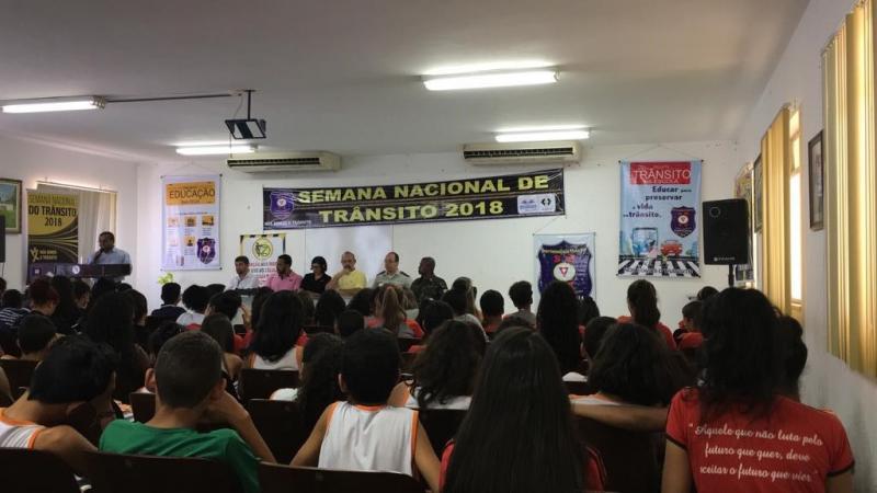 Cerimônia em celebração do Dia do Transito é realizada pela SMTT em Brumado