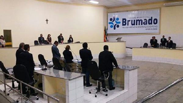 Projeto sobre filiação da Câmara Municipal de Brumado à União das Câmaras e Vereadores do Estado da Bahia foi aprovado em 1ª votação