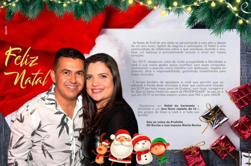Guajeru: Mensagem do prefeito Gil Rocha