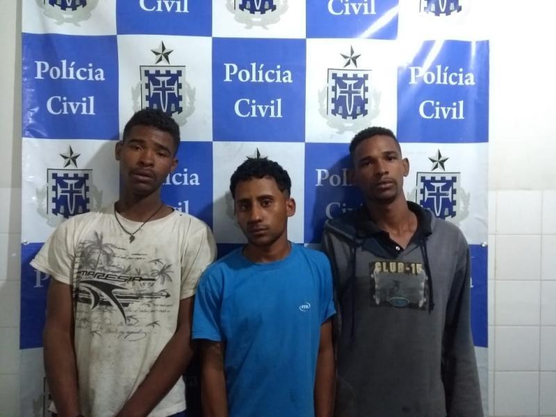 Um bandido morre e três são presos durante ação da polícia em Barra da Estiva