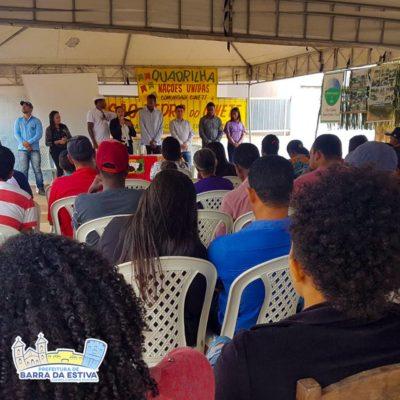 Barra da Estiva: Palestra sobre Políticas Afirmativas é realizada em comunidade Quilombola