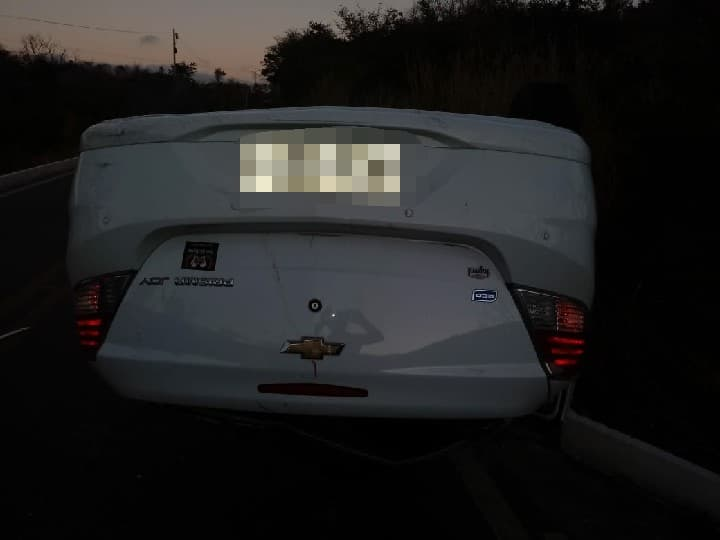 Acidente automobilístico é registrado na BR-430 em Igaporã