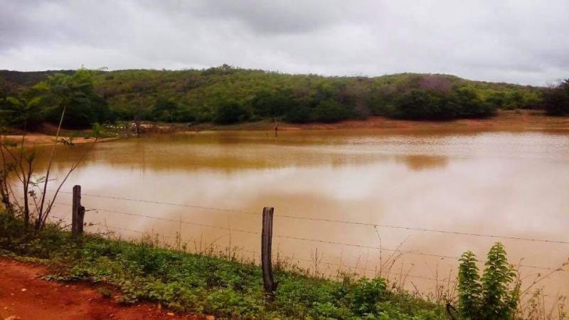 Barragem que abastece Maetinga acumula bom volume de água após chuvas dos últimos dias