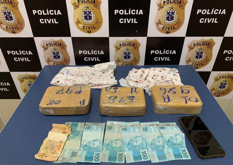 Vitória da Conquista: DTE impede envio de cocaína via transportadora