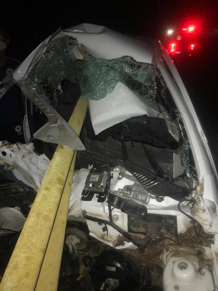 Brumadenses ficam gravemente feridos após acidente na Ba-148, trecho Dom Basílio/Brumado