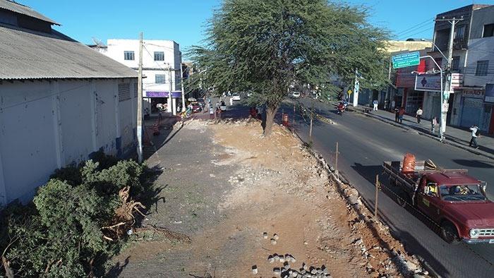 Prefeitura de Brumado emite nota sobre derrubada de árvores para a revitalização da Av. Dr. Antônio Mourão Guimarães