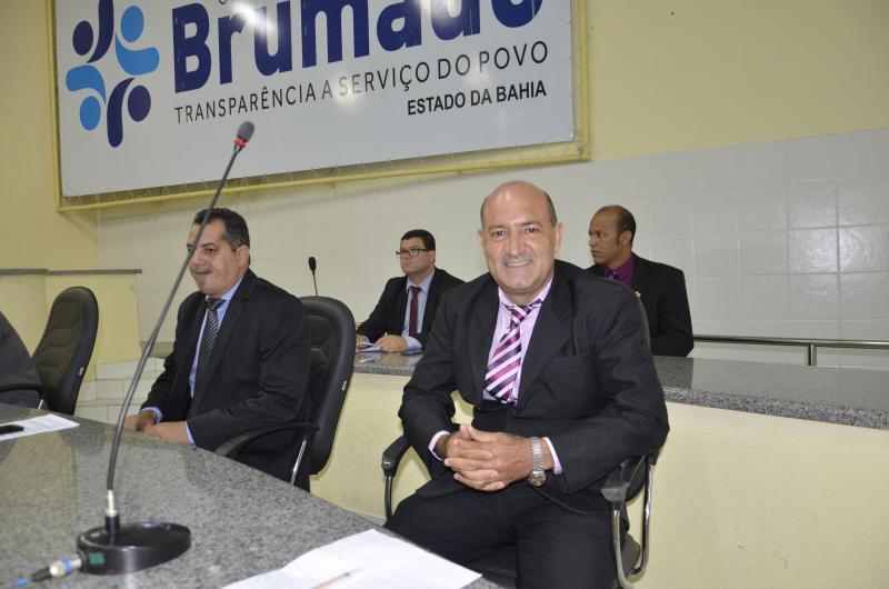 Girson Ledo assume cargo na Câmara de Brumado por tempo indeterminado