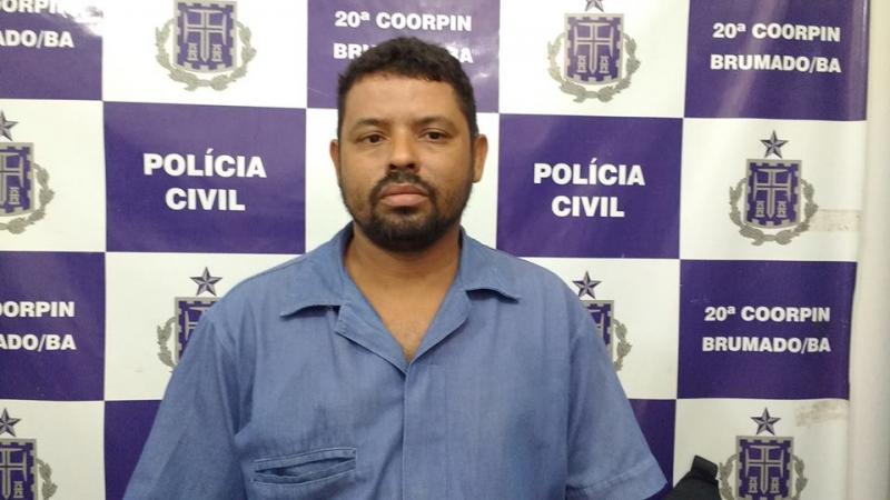 Brumado: Polícia Civil cumpre mandado de prisão preventiva