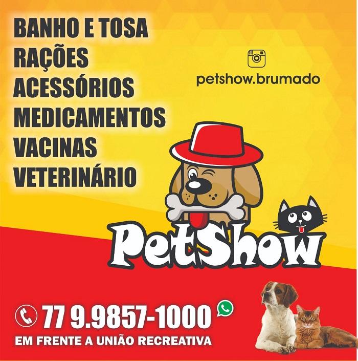 Ofereça o melhor para seu amiguinho de estimação no PetShow em Brumado