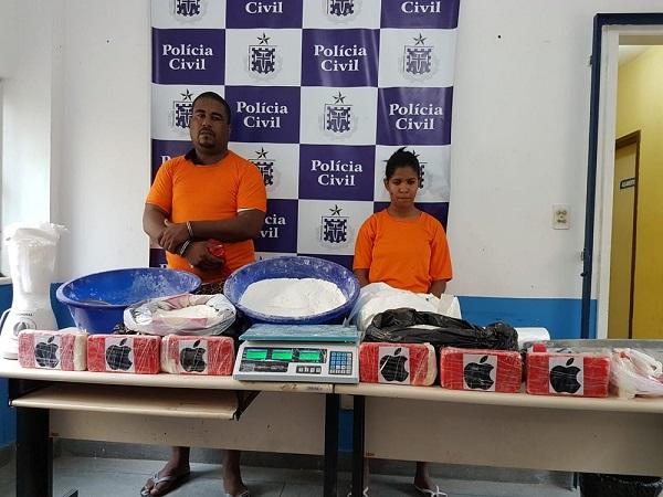 Polícia apreende 40 kg de cocaína que seria distribuída em micareta de Feira de Santana