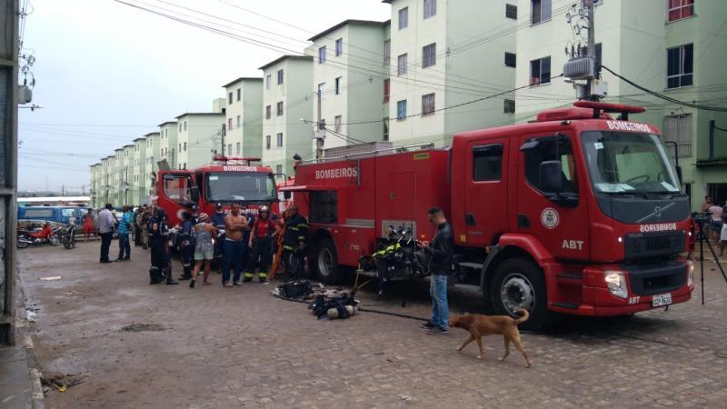 Adolescente de 14 anos morre e nº de feridos sobe para 7 durante incêndio em Feira de Santana