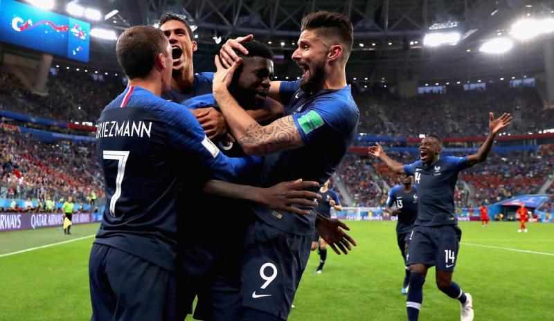 França vence a Bélgica e é a primeira finalista da Copa
