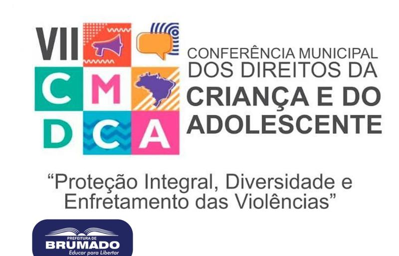 VII Conferência Municipal dos Direitos da Criança e do Adolescente será realizada em Brumado