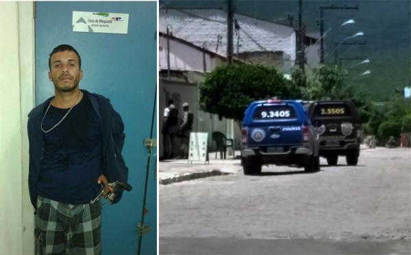 Assaltante morre em confronto com a polícia no centro de Ituaçu